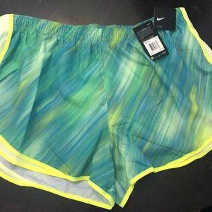 Nike running Shorts with drawstring NWTS $35